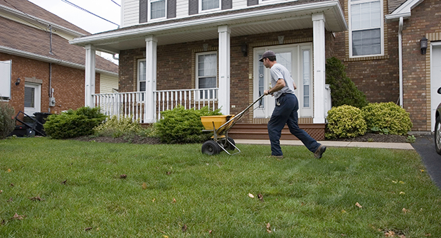 Man fertilizing (Photo: iStock.com/jamievanbuskirk )