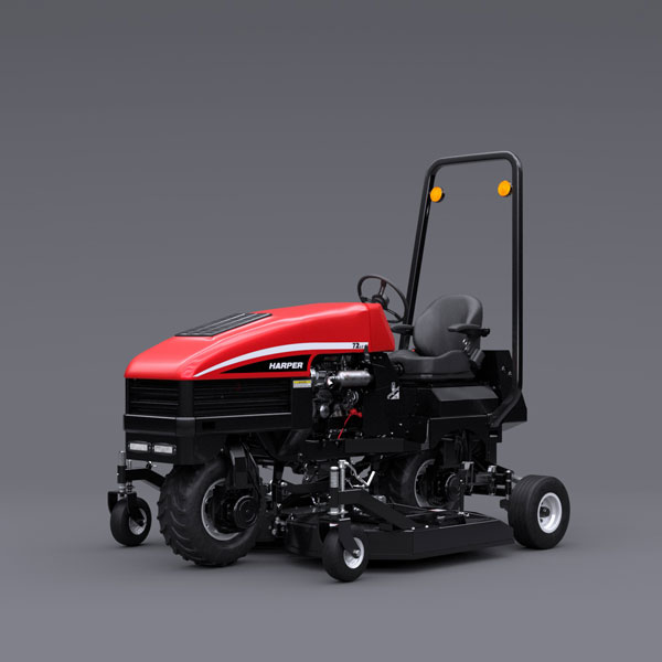Harper Turf Equipment's ATM72 slope mower. (Photo: Harper Turf Equipment)