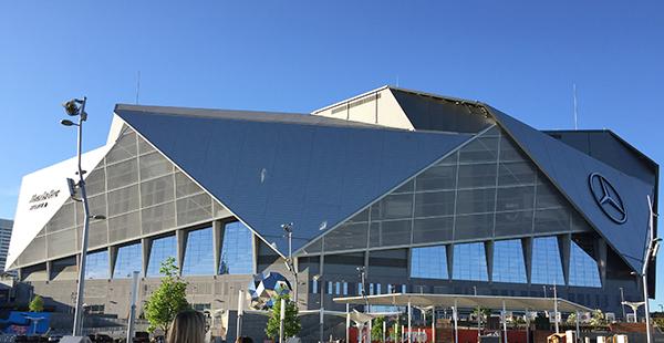 Mercedes-Benz Stadium (Photo: LM Staff