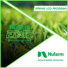 Nufarm's Spring Herbicide Program (Graphic: Nufarm)