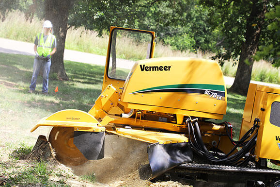 SC70TX stump cutter (Photo: Vermeer)