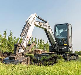 Bobcat E35 compact excavator (Photo: Bobcat)