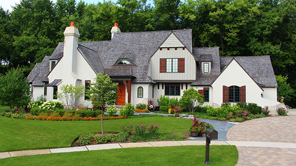 View of house (Photo: James Martin Associates)