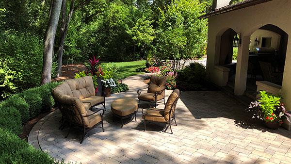 Back patio view (Photo: James Martin Associates)