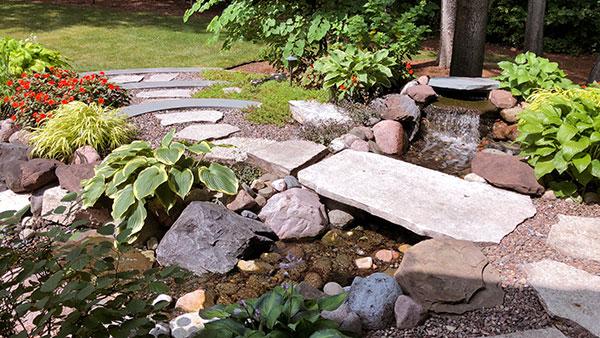 Stepping stones (Photo: James Martin Associates)