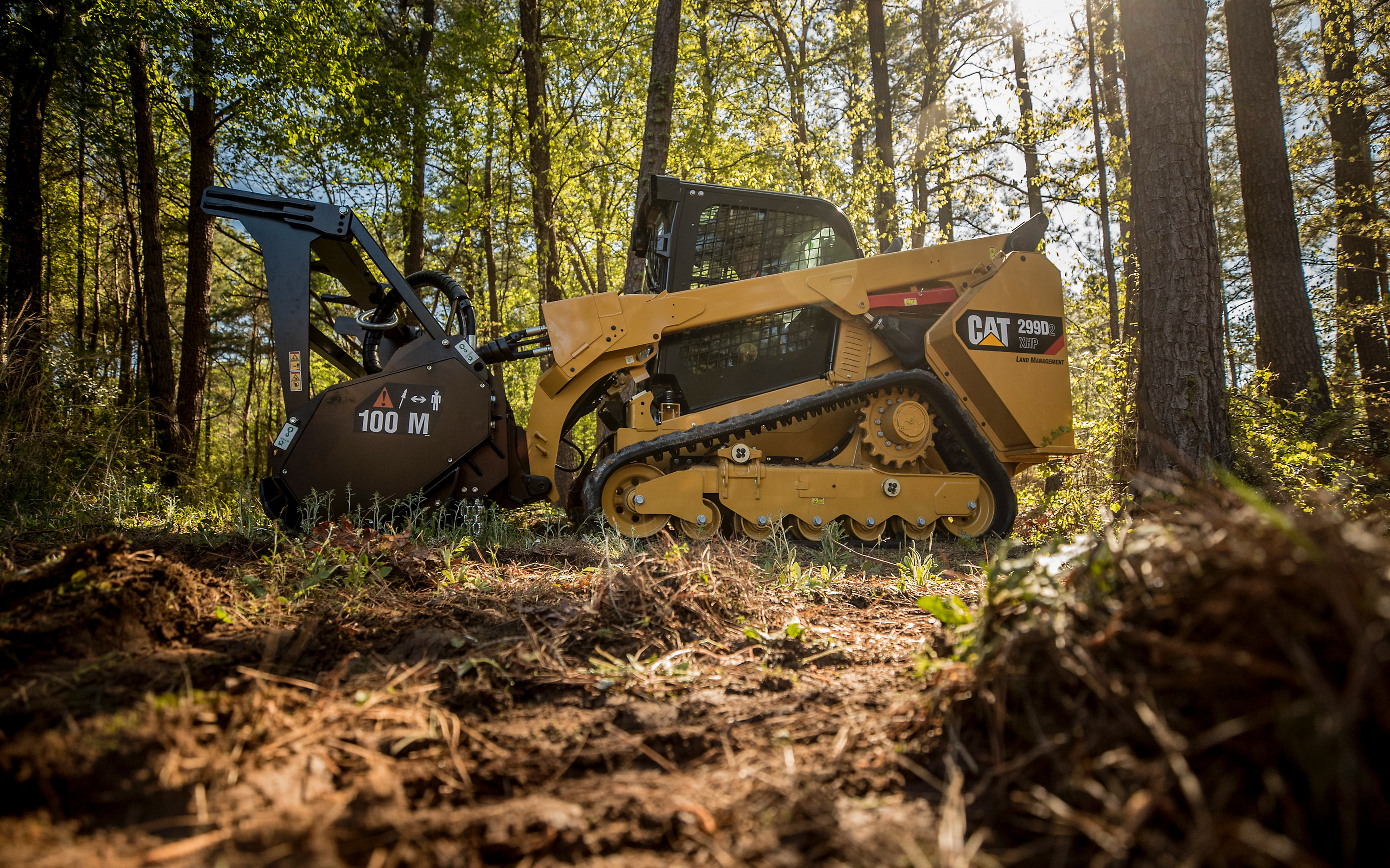 The Cat 299D2 XHP land management compact track loader (Photo: Caterpillar)