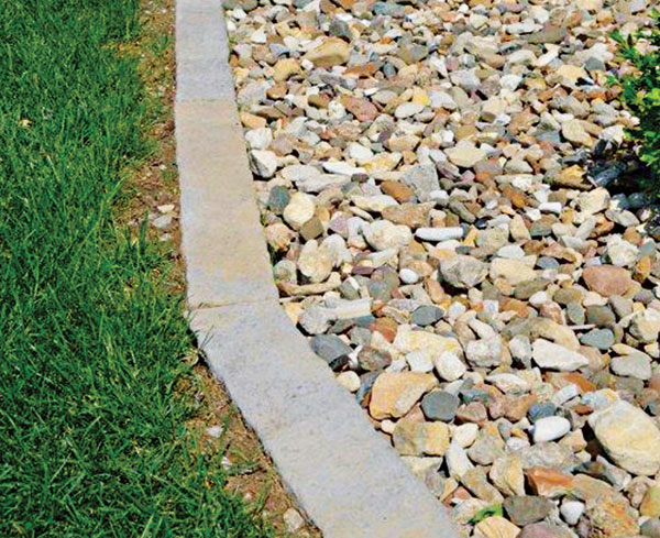 Concrete edging (Photo: Rosetta Stone)