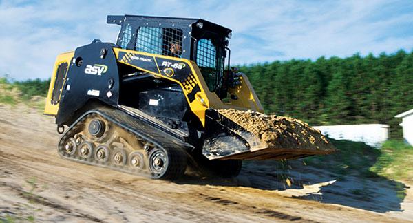 ASV machine with tracks (Photo: ASV)