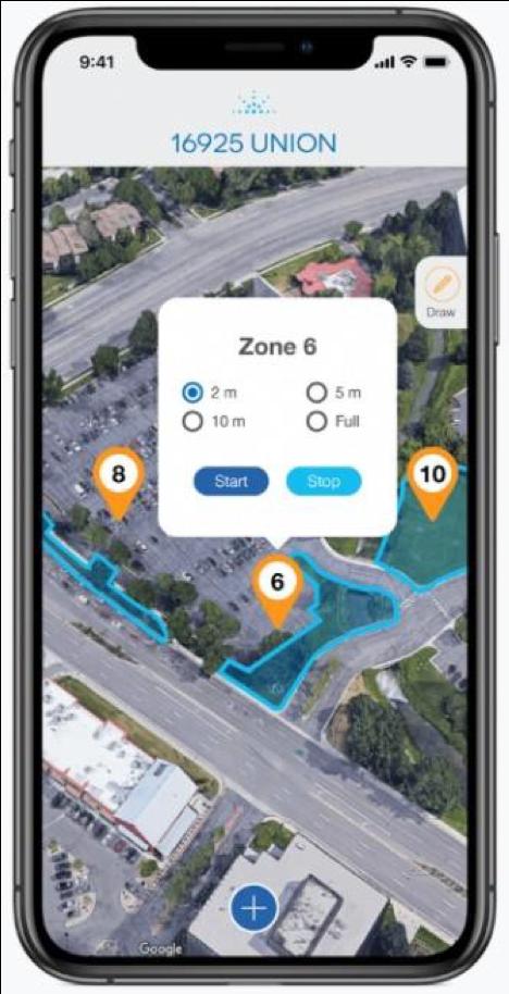 Mobile app (Photo: Smart Rain)