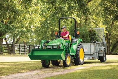 The John Deere 3025D compact utility tractor. (Photo: John Deere)