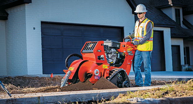 Man with trencher (Photo: Ditch Witch)