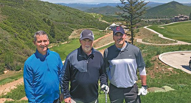 Bill Roddy, Bob Byrne and Craig MacGregor (Photo: Seth Jones)