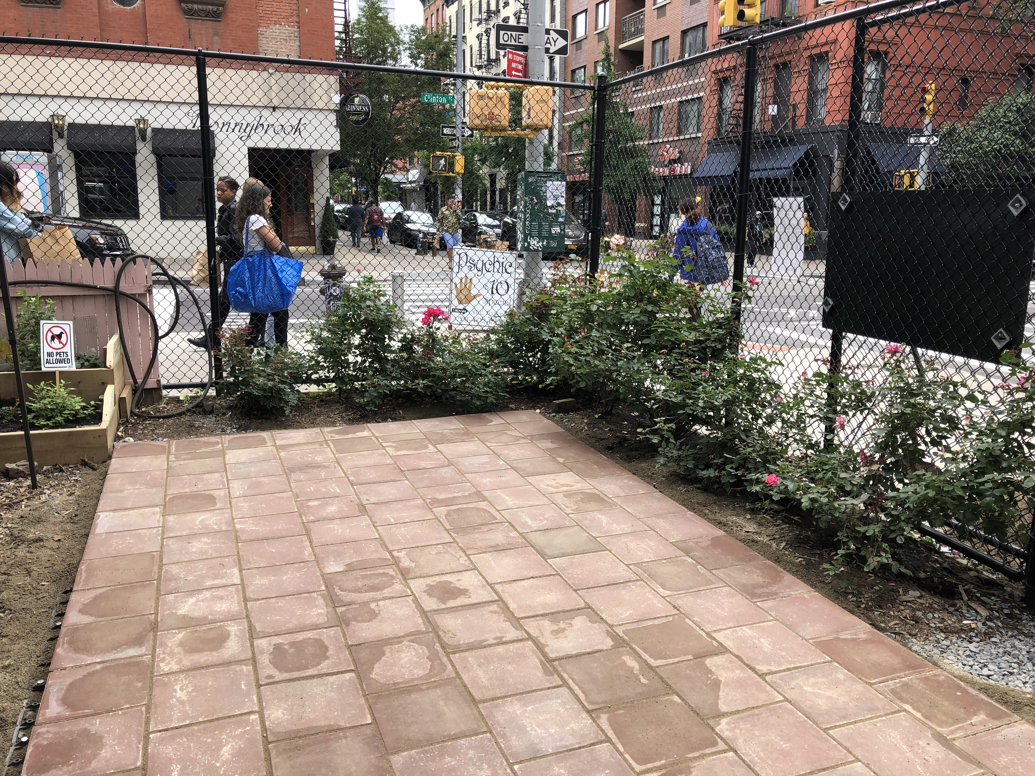 The Clinton Community Garden gives residents of the Lower East Side a place to connect. Photo: Project EverGreen
