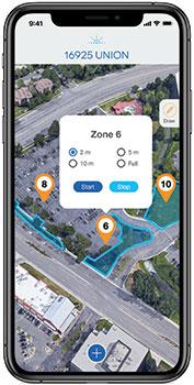 Irrigation tracking app (Photo: Smart Rain)