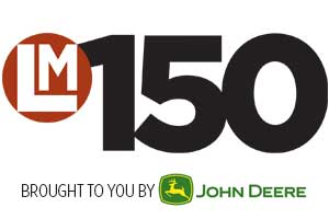 LM150 Graphic and Logo (Graphic: LM Staff) (Logo: John Deere)