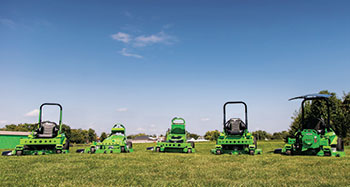 Electric mowers (Photo: Mean Green Mowers)