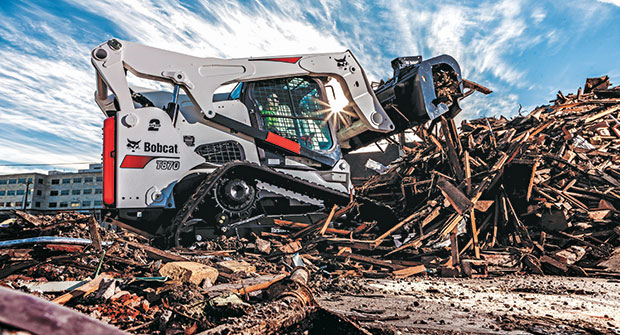 Skid-steer (Photo: Bobcat)