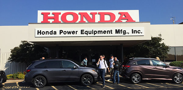 The Honda Power Equipment Manufacturing facility in Swepsonville, N.C. (Photo: LM Staff)