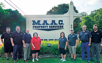 MAAC Property Services staff (Photo: MAAC Property Services)