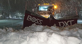 Boss Snowplow (Photo: Polar Snow & Ice Solutions)