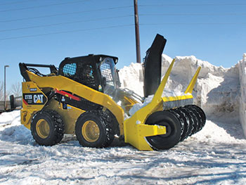 Large piece of snow equipment (Photo: JC Grounds Management)