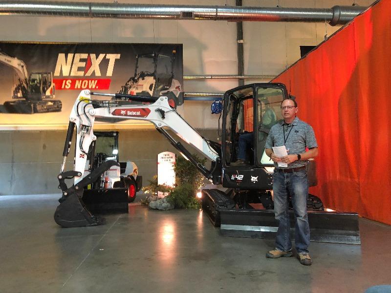 Bobcat Next is Now Michael Wetzel (Photo: Seth Jones)