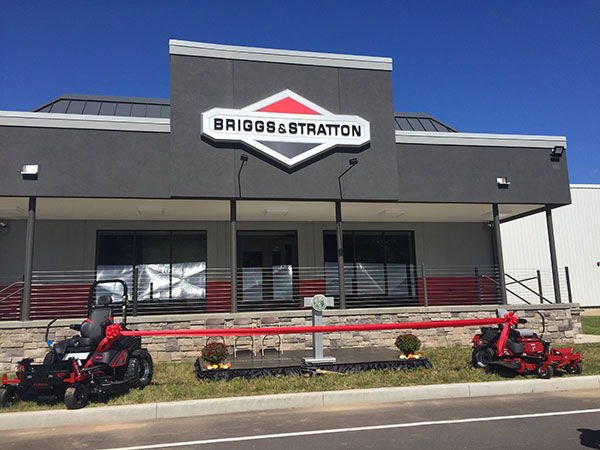 Outside of new Briggs facility (Photo: LM Staff)