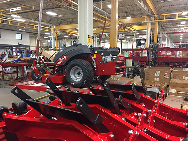 A peek inside the Sherrill manufacturing facility. (Photo: LM Staff)