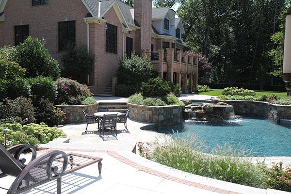 Pool area (Photo: Brian Koribanick)