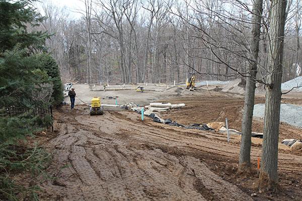 Construction phase of sportsplex (Photo: Brian Koribanick)