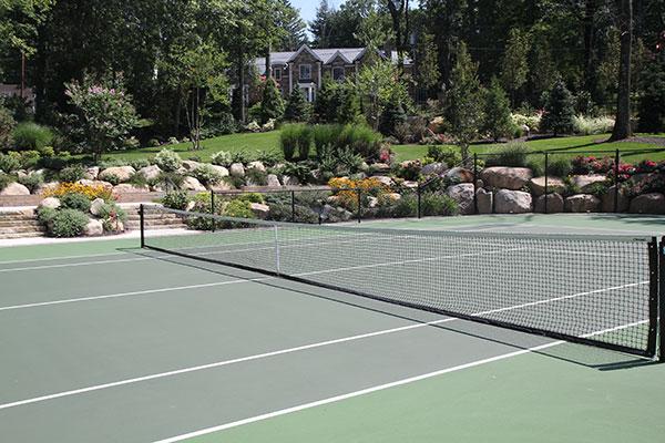 Tennis court (Photo: Brian Koribanick)