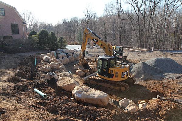 Construction phase (Photo: Brian Koribanick)