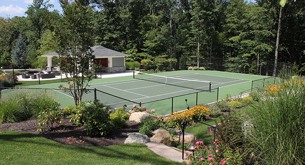 Sportsplex tennis courts (Photo: Brian Koribanick)