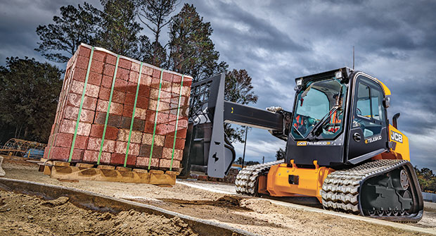 Loader and attachment (Photo: JCB)