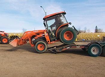 Landscape tractor (Photo: Greenius)