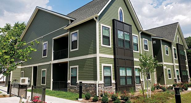 Apartment complex (Photo: Grapids Irrigation)