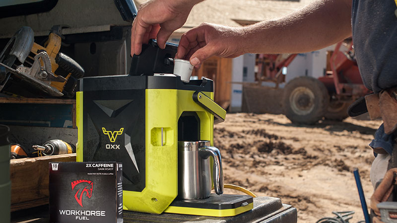 Coffeeboxx Workhorse fuel coffee pods