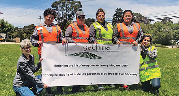 Gachina staff (Photo: Gachina Landscape Management)