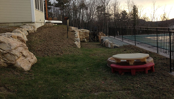 Hardscape project (Photo: Susan Teare)