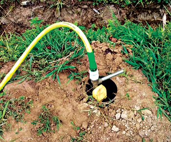 Irrigation system (Photo: All-in-One Outdoor Solutions)