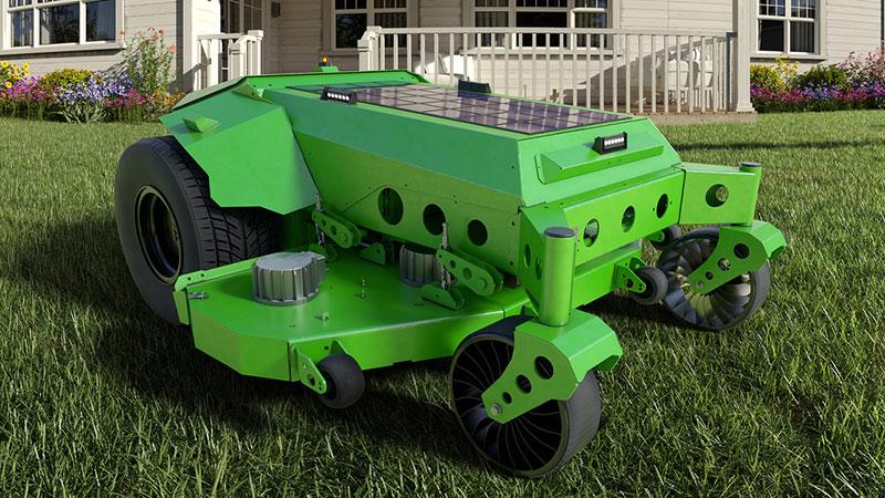 Mean Green Mowers and Kobi robotic mower