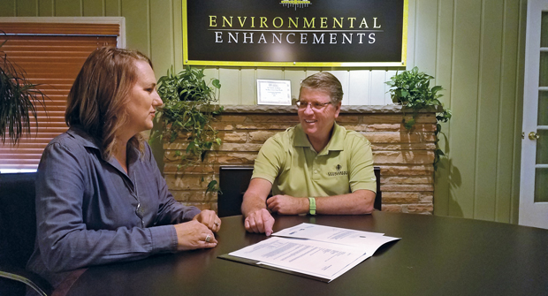 Environmental Enhancements chooses to be honest and upfront with its clients. (Photo: Environmental Enhancements)