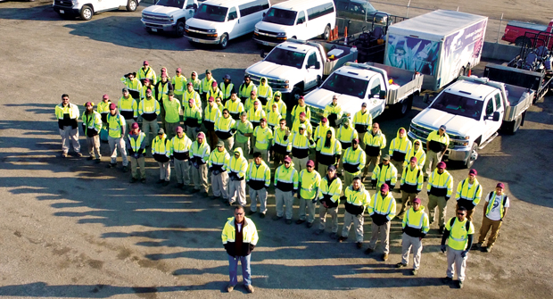 For EMI, finding and retaining employees is about treating people with respect. (Photo: Environmental Management Inc.)