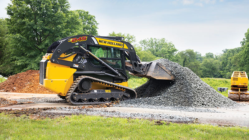 New Holland's C245 compact track loader