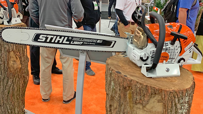 Stihl debuts fuel injection chainsaw, other products at GIE+EXPO