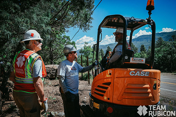 Debris clearing efforts in Colorado were made easier with Case equipment. (Photo: Case Construction Equipment)