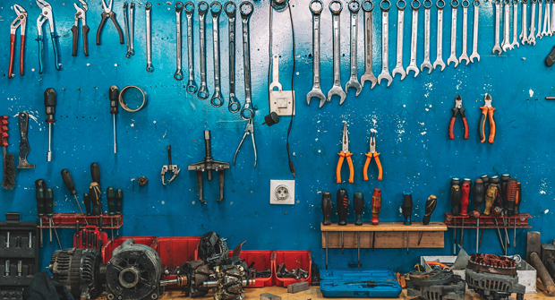 Tools, shop, maintenance. (Photo: iStock.com/Obradovic)