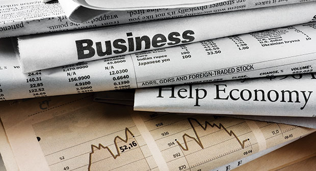 Business newspapers (Photo: Nikolaev/iStock / Getty Images Plus/Getty Images)