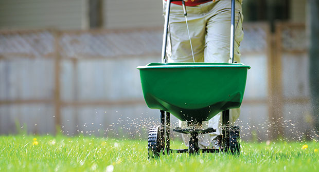 Fertilizer being spread (Photo: groveb/ iStock / getty images plus/getty images)