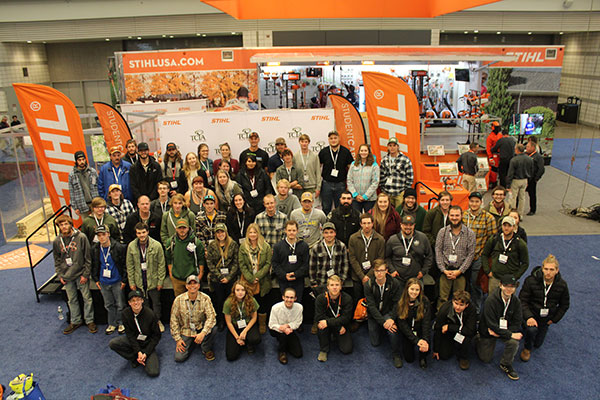 """The Tree Care Industry Association Foundation and Stihl announced the winning schools of """"Gear Up powered by Stihl. (Photo: Stihl)"""
